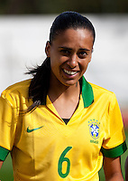 Fifa Womans World Cup Canada 2015 - Preview //<br /> Algarve Cup 2015 Tournament ( Municipal Stadium - Albufeira , Portugal ) - <br /> Brazil vs China 0-0 -  Andressa Alves da Silva of Brazil