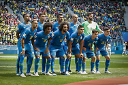 Team of Brazil before the 2018 FIFA World Cup Russia, Group E football match between Brazil and Costa Rica on June 22, 2018 at Saint Petersburg Stadium in Saint Petersburg, Russia - Photo Thiago Bernardes / FramePhoto / ProSportsImages / DPPI
