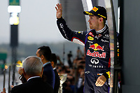 VETTEL Sebastian (Ger) Red Bull Renault Rb10 ambiance portrait podium ambiance   during the 2014 Formula One World Championship, Japan Grand Prix from October 3rd to 5th 2014 in Suzuka. Photo Frederic Le Floc'h / DPPI
