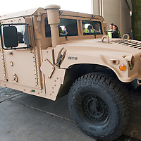 HMMWW, Humwee or Hummer is seen during the presentation of the Coalition Support Fund for Hungary by the US military in Szolnok, Hungary on July 18, 2011. ATTILA VOLGYI