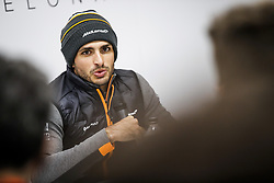 February 18, 2019 - Barcelona, Spain - SAINZ Carlos (spa), McLaren Renault F1 MCL34, portrait during Formula 1 winter tests from February 18 to 21, 2019 at Barcelona, Spain - : FIA Formula One World Championship 2019, Test in Barcelona, (Credit Image: © Hoch Zwei via ZUMA Wire)