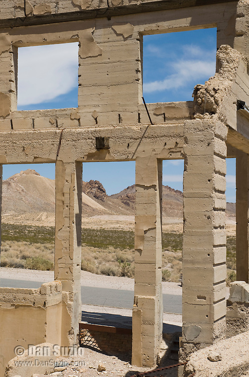 John S. Cook & Co Bank building, Rhyolite ghost town, Nevada