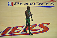 Boston's Kevin Garnett..The Cleveland Cavaliers defeated the Boston Celtics 88-77 in Game 4 of the Eastern Conference Semi-Finals at Quicken Loans Arena in Cleveland.