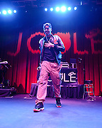 SILVER SPRING, MD - September 15th, 2011 - J. Cole performs at The Fillmore Silver Spring. Cole's debut album, Cole World: The Sideline Story, debuted at number one on the US Billboard 200 chart. (Photo by Kyle Gustafson/For The Washington Post)