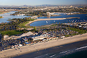 Roller Coaster at Mission Beach and Mission Bay, San Diego, California.