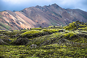 Landmannaaugar area, Iceland highlands in summertime.