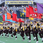 ORLANDO, FL - JANUARY 01:  Minnesota band members perform during the Buffalo Wild Wings Citrus Bowl between the Minnesota Golden Gophers and the Missouri Tigers at the Florida Citrus Bowl on January 1, 2015 in Orlando, Florida. (Photo by Alex Menendez/Getty Images) *** Local Caption ***