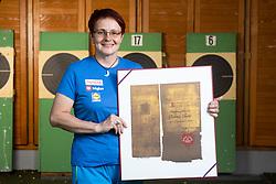 Portrait od Polona Sladic, Slovenian shooting coach after she received Bloudek Award for year 2020 , on June 3, 2021 in Ljubljana, Slovenia. Photo by Vid Ponikvar / Sportida