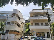 Bauhaus Architecture in Tel Aviv White City 58 Frishman Street. The White City refers to a collection of over 4,000 buildings built in the Bauhaus or International Style in Tel Aviv from the 1930s by German Jewish architects who emigrated to the British Mandate of Palestine after the rise of the Nazis. Tel Aviv has the largest number of buildings in the Bauhaus/International Style of any city in the world. Preservation, documentation, and exhibitions have brought attention to Tel Aviv's collection of 1930s architecture.