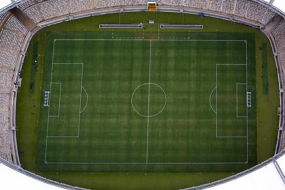 Belo Horizonte_MG, Brasil.<br /> <br /> Imagem aerea do Mineirao (Governador Magalhaes Pinto) na Pampulha.<br /> <br /> Aerial view of Mineirao (Governador Magalhaes Pinto) in Pampulha..<br /> <br /> Foto RODRIGO LIMA / NITRO