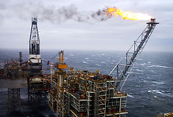 Embargoed to 0001 Thursday June 29 File photo dated 16/03/07 of an oil rig in the North Sea. Decommissioning the North Sea could cost an estimated £59.7 billion but the UK Oil and Gas Authority (OGA) has set the goal of completing the work for less than £39 million.