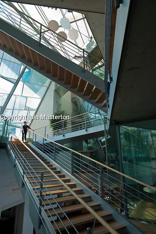 Interior of Akademie der Kunste in Pariser Plat Berlin Germany