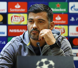February 11, 2019 - Rome, Italy - FC Porto press conference and training - Champions League.Manager of Porto Sergio Conceicao at Olimpico Stadium in Rome, Italy on February 11, 2019. (Credit Image: © Matteo Ciambelli/NurPhoto via ZUMA Press)