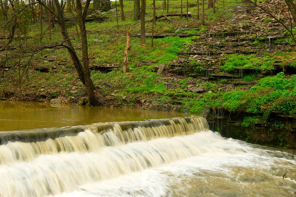 Glenn's Creek, Woodford Reserve Distillery (premium bourbon), Versailles (near Lexington), Kentucky USA