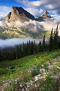 Heavy Runner and Reynolds Mountain, Glacier National Park