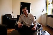 Aleksandar Vucic, Deputy President of the Serbian Progressive Party in his New Belgrade office...Matt Lutton for the International Herald Tribune..Capture of Ratko Mladic and state of Nationalism. Belgrade, Serbia. June 2, 2011.