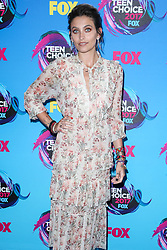 Paris Jackson wearing a Zimmermann dress and Elisabetta Franchi shoes arrives at the Teen Choice Awards 2017 at Galen Center on August 13, 2017 in Los Angeles, California. 13 Aug 2017 Pictured: Paris Jackson. Photo credit: MEGA TheMegaAgency.com +1 888 505 6342