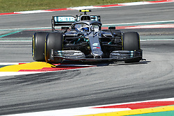 May 10, 2019 - Barcelona, Catalonia, Spain - Valtteri Bottas, team Mercedes during F1 Grand Prix free practice celebrated at Circuit of Barcelona 10th May 2019 in Barcelona, Spain. (Credit Image: © Mikel Trigueros/NurPhoto via ZUMA Press)