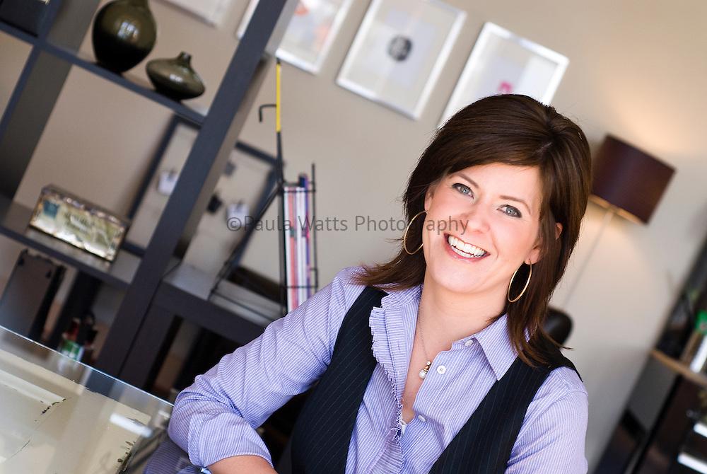 professional headshot or corporate environmental portrait of woman