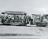 1888 Cahuenga Valley Railroad in Hollywood