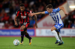 AFC Bournemouth Jordon Ibe (left) and Brighton and Hove Albion Jayson Molumby in action during the Carabao Cup, third round match at the Vitality Stadium, Bournemouth.