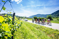 Race Leaders during the 4th Stage of 27th Tour of Slovenia 2021 cycling race between Ajdovscina and Nova Gorica (164,1 km), on June 12, 2021 in Ajdovscina - Nova Gorica, Ajdovscina - Nova Gorica, Slovenia. Photo by Vid Ponikvar / Sportida