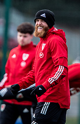 CARDIFF, WALES - Monday, March 29, 2021: Wales' Jonathan Williams during a training session at the Vale Resort ahead of the FIFA World Cup Qatar 2022 Qualifying Group E game against the Czech Republic. (Pic by David Rawcliffe/Propaganda)