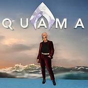 Mariah Idrissi Arrivers at Aquaman - World Premiere at Cineworld Leicester Square on 26 November 2018, London, UK.