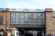 Central Station Glasgow, Scotland