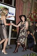 ROSIE JOHNSTON PICKS UPO THE AWARDS FOR THE 'BEST KEPT SECRET' The Tatler Travel Awards 2008. The Ritz, Piccadilly. London. 3 December 2007. -DO NOT ARCHIVE-© Copyright Photograph by Dafydd Jones. 248 Clapham Rd. London SW9 0PZ. Tel 0207 820 0771. www.dafjones.com.