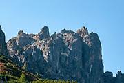 The summit of Elfer mountain, Neustift im Stubaital, Tirol, Austria
