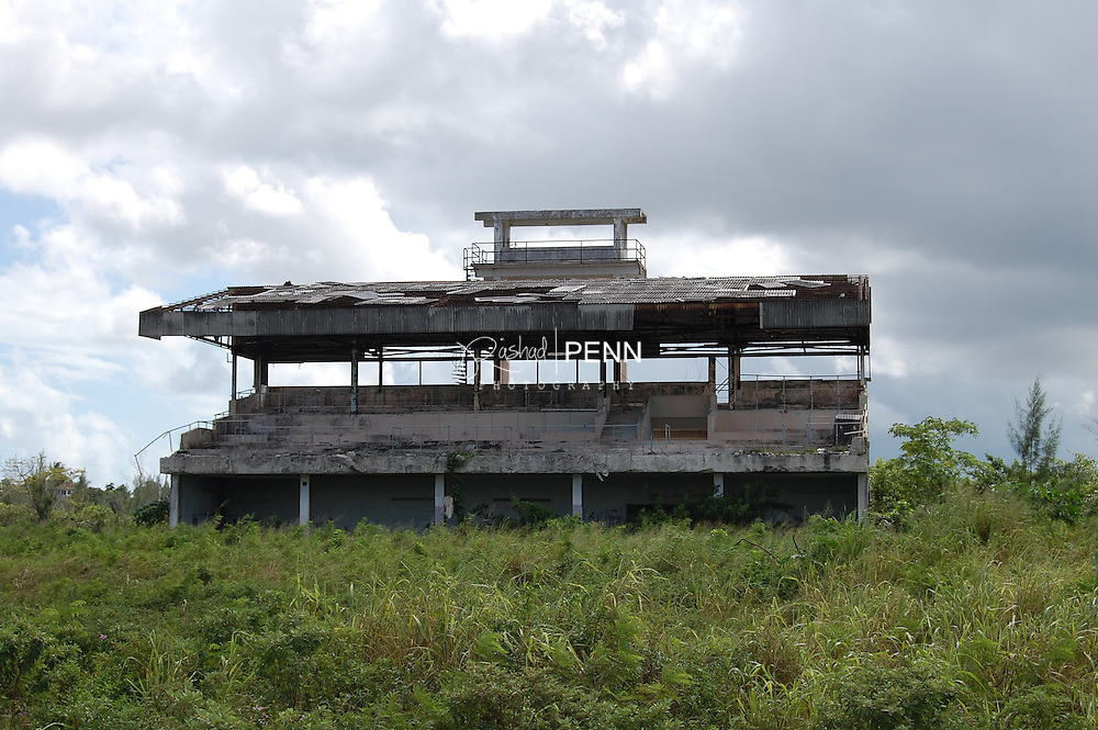 Old race track located cable beach, now abandonded.