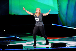 PABEST Kate Winslet on stage at the We Day UK charity event and concert, The SSE Arena, London.