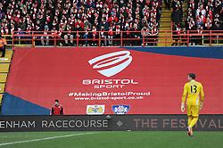 Bristol Sport branding - Photo mandatory by-line: Dougie Allward/JMP - Mobile: 07966 386802 - 25/01/2015 - SPORT - Football - Bristol - Ashton Gate - Bristol City v West Ham United - FA Cup Fourth Round