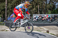 #89 (GALYAMOV Konstantin) RUS during practice at Round 5 of the 2018 UCI BMX Superscross World Cup in Zolder, Belgium