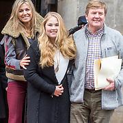 NLD/Amsterdam/20180203 - 80ste Verjaardag Pr. Beatrix, Koning Willem Alexander , koningin Maxima, Prinses Amalia