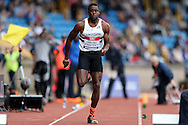Nana Owusu-Nyantekyi competing in the Men's Triple Jump Final. The British Championships 2016, athletics event at the Alexander Stadium in Birmingham, Midlands  on Saturday 25th June 2016.<br /> pic by John Patrick Fletcher, Andrew Orchard sports photography.