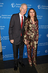 John McEnroe and Patty Smyth attend the American Museum of Natural History's 2018 Gala at the American Museum of Natural History in New York.