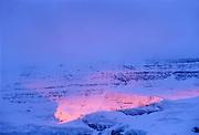 Storm light on Mt. Victoria<br />Banff National Park<br />Alberta<br />Canada
