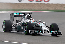 19.04.2014, International Circuit, Shanghai, CHN, FIA, Formel 1, Grand Prix von China, Qualifying Tag, im Bild Lewis Hamilton (GBR) Mercedes AMG F1 W05. // during the Qualifyingday of Chinese Formula One Grand Prix at the International Circuit in Shanghai, China on 2014/04/19. EXPA Pictures © 2014, PhotoCredit: EXPA/ Sutton Images/ Mina<br /> <br /> *****ATTENTION - for AUT, SLO, CRO, SRB, BIH, MAZ only*****