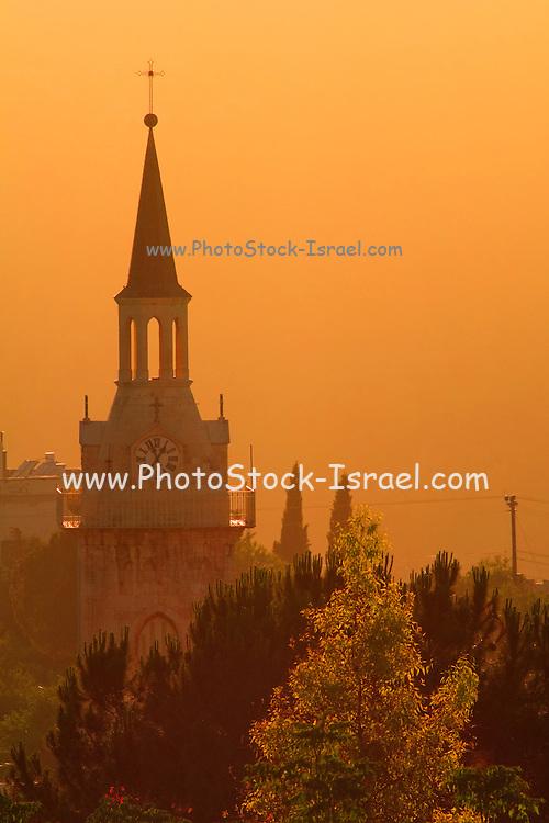 Israel, Jerusalem, Ein Kerem, Church of St John the Baptist