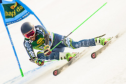March 9, 2019 - Kranjska Gora, Kranjska Gora, Slovenia - Adam Barwood of New Zeland in action during Audi FIS Ski World Cup Vitranc on March 8, 2019 in Kranjska Gora, Slovenia. (Credit Image: © Rok Rakun/Pacific Press via ZUMA Wire)