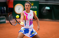 Sara Errani of Italy in action during the second round at the Roland Garros 2020, Grand Slam tennis tournament, on September 30, 2020 at Roland Garros stadium in Paris, France - Photo Rob Prange / Spain ProSportsImages / DPPI / ProSportsImages / DPPI
