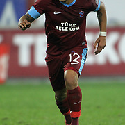 Trabzonspor's Carneiro Filho Paulo Henrique during their Turkish superleague soccer derby match Trabzonspor between Galatasaray at the Avni Aker Stadium in Trabzon Turkey on Sunday, 23 December 2012. Photo by TURKPIX