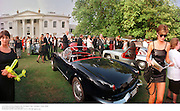Louis Vuitton Concours d'Elegance '98. Anne Stride on right . Hurlingham, London. 6/6/98. <br /> © Copyright Photograph by Dafydd Jones<br /> 66 Stockwell Park Rd. London SW9 0DA<br /> Tel 0171 733 0108