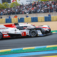 #7,  Toyota Gazoo Racing, Toyota TS050 Hybrid, LMP1H, driven by: Mike Conway, Kamui Kobayashi, Jose Maria Lopez,  on 15/06/2019 at the Le Mans 24H 2019