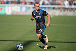 October 21, 2018 - San Jose, California, United States - San Jose, CA - Sunday October 21, 2018: Tommy Thompson during a Major League Soccer (MLS) match between the San Jose Earthquakes and the Colorado Rapids at Avaya Stadium. (Credit Image: © Lyndsay Radnedge/ISIPhotos via ZUMA Wire)