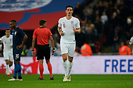 Lewis Dunk of England during the International Friendly match between England and USA at Wembley Stadium, London, England on 15 November 2018.