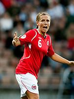 Fotball<br /> EM 2009 kvinner<br /> Semifinale<br /> Tyskland v Norge<br /> Foto: Jussi Eskola/Digitalsport<br /> NORWAY ONLY<br /> <br /> Camilla Huse