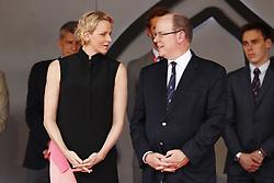 May 26, 2019 - Monte Carlo, Monaco - Motorsports: FIA Formula One World Championship 2019, Grand Prix of Monaco, ..Princess Charlene of Monaco and Prince Albert II of Monaco  (Credit Image: © Hoch Zwei via ZUMA Wire)